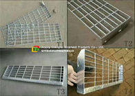 kualitas baik Galvanized Steel Grating Panas & Removable Galvanized Steel Stairs, Non Slip Stainless Steel Treads Tangga Dijual
